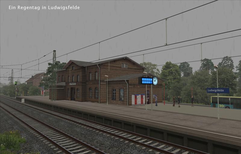 Berlin Wittenberg Ludwigsfelde rain 03