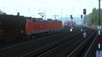 Kohlezug 48745 nach Ehrang (BR 185)