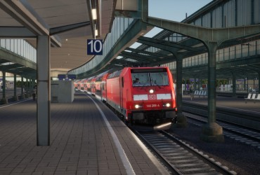 BR 146 auf dem RE42 (ursprünglich von mijos3)
