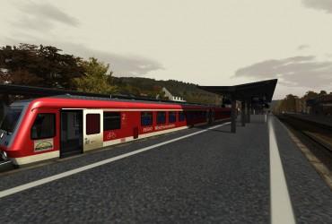 Ersatzgarnitur von der Westfrankenbahn