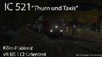 "(Kny) IC 521 ""Thurn und Taxis"" FJ 2001"