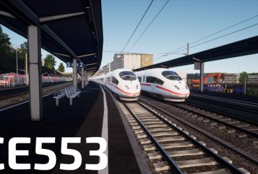 ICE553 von Wuppertal nach Hagen