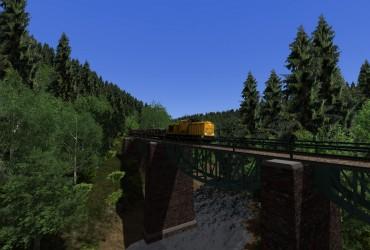 Gleisbaustelle bei Grimmelshofen Teil2