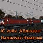 "IC 2082 ""Königssee"" nach Hamburg"
