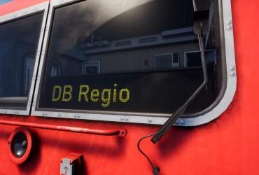 BR 143 Zugzielanzeige