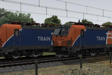 ELL/TrainEurope 193 741 + 193 755