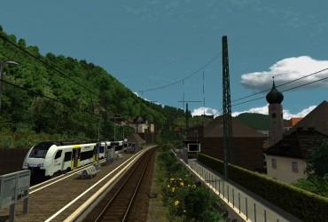 mit der Mittelrheinbahn nach Mainz