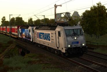 """[K-Trains] Metrans 386 019-4 """"Wir suchen Lokführer"""""""