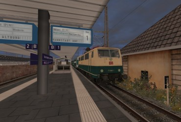 [lac] 1990er - 15 - RE3846 nach Rannstadt Hbf