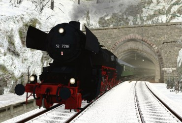 [52 7596] Mit der Altbau 52 durch 37 Tunnel