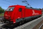 """vR BR185 582-4 """"Rhein Cargo"""""""