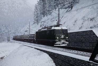Güterzug nach Arosa