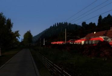 [Dson] RB 59447 - Ein Herbstmorgen mit der Werdenfelsbahn Teil 2
