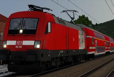 S1 von Bad Schandau nach Dresden Hbf (fiktiv!)