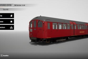 Class 483 London Underground Red