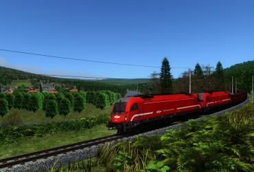 Iron ore train to Linz
