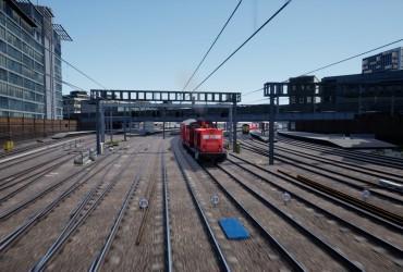 DB-Verstärker auf dem Gread Western Express