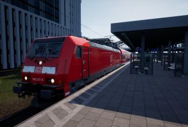 S3 Ersatzzug nach Mammendorf