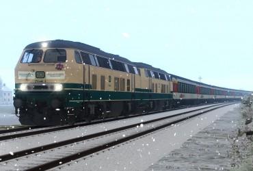 vR BR218 446-3 (Abschiedsfahrt)