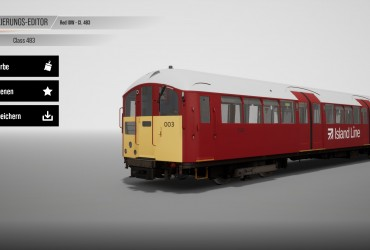 Class 483 Island Line Red
