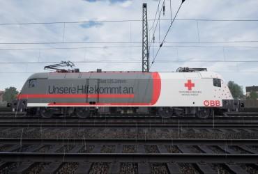 """BR 182 [HLB]: ÖBB 1116 264-1 """"Österreichisches Rotes Kreuz"""""""