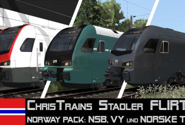 [EZY] CT Stadler FLIRT3 Norway Package V2.1