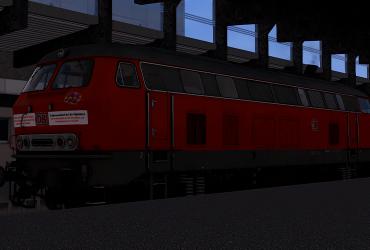 vR BR218 419-0 Abschiedsfahrt Repaint