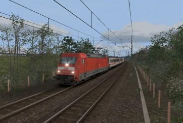 IC 2313 am Nachmittags in richtung Stuttgart