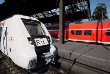 Rhein-Ruhr-Express repaint für den Talent 2 (Abellio)