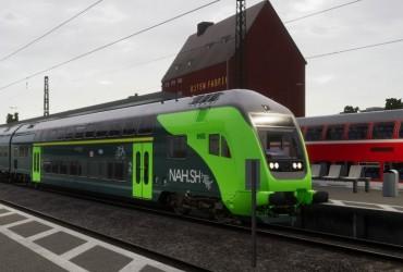 RE8 Lübeck - Hamburg