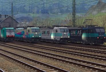 [EL] K-Trains LINEAS BR186 Pack V1