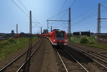 Morgendlicher Mittelhessen-Express nach Treysa/Dillenburg