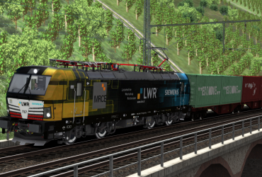 "MRCE/Siemens 193 717 ""LWR Amsterdam"""