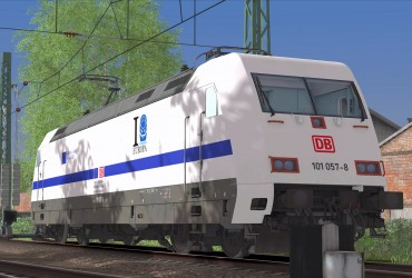 [EL] BR101 057-8 'European Year of Rail 2021'