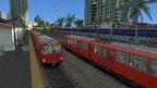 MTS Green Line - in- und outbound (Stadtbahn San Diego im Addon Pacific Surfliner)