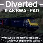 [blk11] Diverted - 1L48 09:43 Swansea - London Paddington