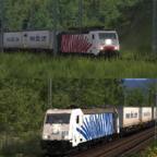 Ekol-Ganzzug 55240 nach Koblenz
