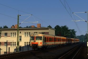 [LG] S-Bahn-Pendler am Morgen