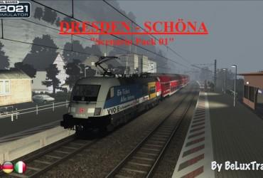 """Aufgaben-Paket 01 """"Dresden-Schöna"""""""
