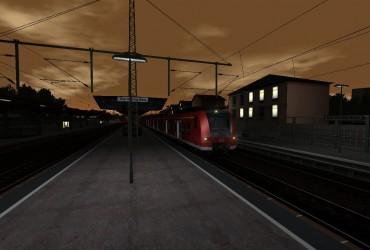 S-Bahn am Morgen