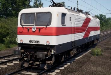BR 112 [HLB]: Reichbahn DR 212 001-2 Weiße Lady