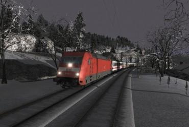EC 115 Morgens nach Austria Klagenfurt(Br 101 )