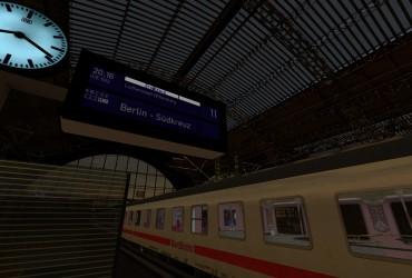 ICE-Ersatzzug von Leipzig nach Berlin