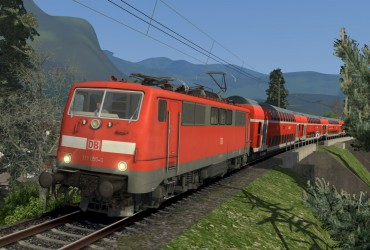 [S] RE 4873 | Mit bewährter Technik in die Alpen