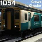 [blk11] 1D54 10:23 Crewe - Chester