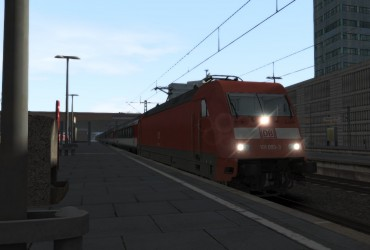 203-EC 7 Hamburg-Altona - Interlaken Ost