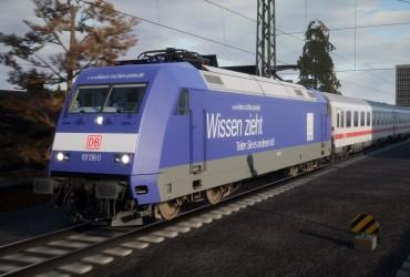 """DB BR 101 136-0 """"Wissen zieht"""""""