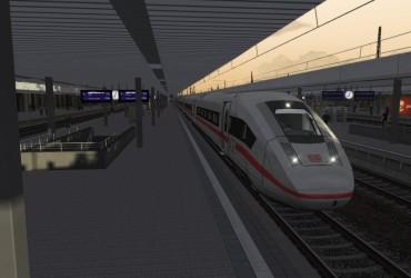ICE 514 Stuttgart - Hamburg Altona