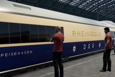 BR 406 'Rheingold' Pack: 1962-66 Blau und ab 1966 TEE