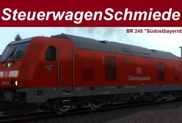 """[STWS] BR 245 """"Südostbayernbahn"""" (inkl. ZZA)"""
